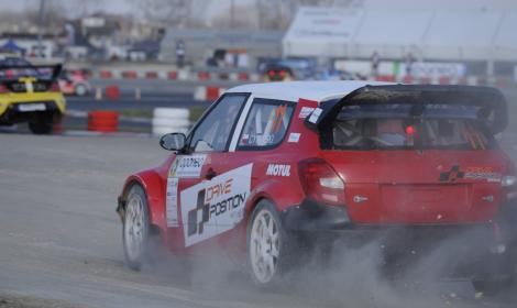 Autek na Mistrzostwach Polski Rallycross